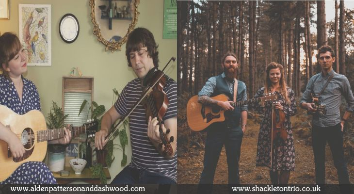 Alden & Patterson and The Shackleton Trio
