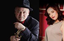 Enrico Tomasso and Joana Eden