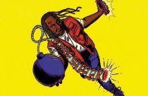 Colour cartoon of Reginald D Hunter