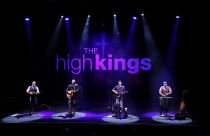 The High Kings on Stage
