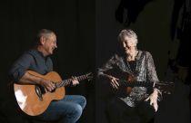 Peggy Seeger with Calum MacColl