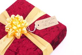 A red present